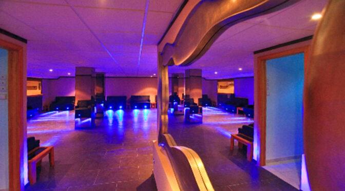 nowoczesne oświetlenie w luksusowej rezydencji do sprzedaży Hiszpania (Costa Del Sol, Malaga)