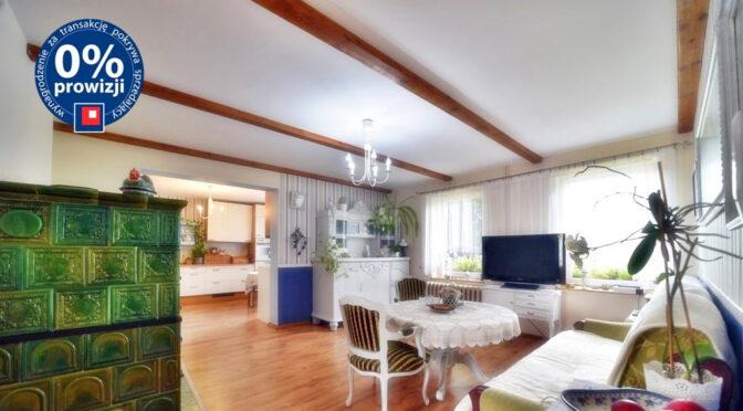 oryginalny styl salonu w ekskluzywnej rezydencji do sprzedaży Świdnica (okolice)
