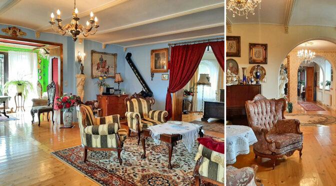 imponujące bogactwem wnętrze luksusowej rezydencji do sprzedaży Żagań (okolice)