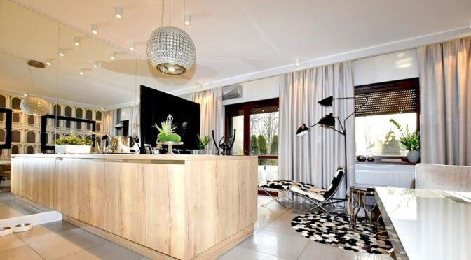 zaprojektowane zgodnie z najnowszymi trendami wnętrze luksusowego apartamentu na sprzedaż Inowrocław