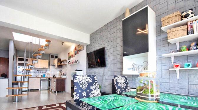 zaprojektowane zgodnie z najnowszymi trendami wnętrze luksusowego apartamentu na sprzedaż Szczecin