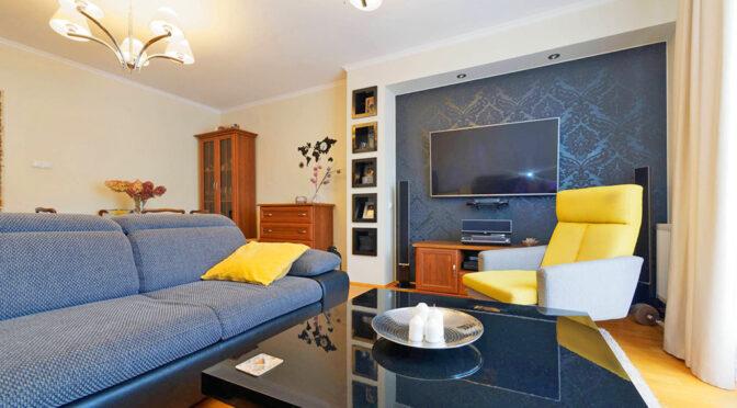 prestiżowy salon w ekskluzywnym apartamencie na sprzedaż Tarnów