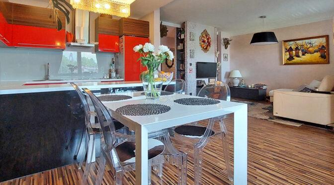 przestronne wnętrze luksusowego apartamentu na wynajem Piotrków Trybunalski