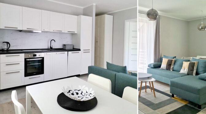 eleganckie wnętrze luksusowego apartamentu na wynajem Legnica (okolice)