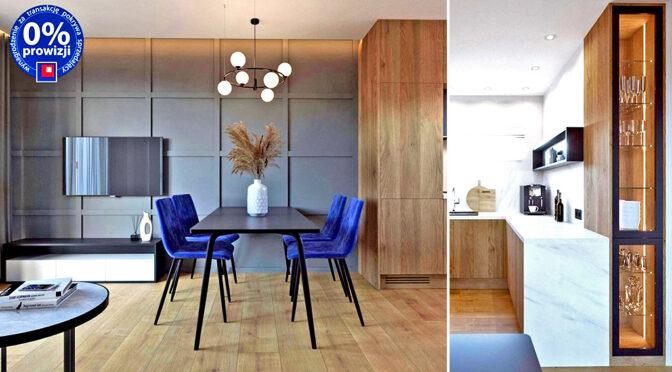 nowoczesne wnętrze ekskluzywnego apartamentu do sprzedaży Lublin