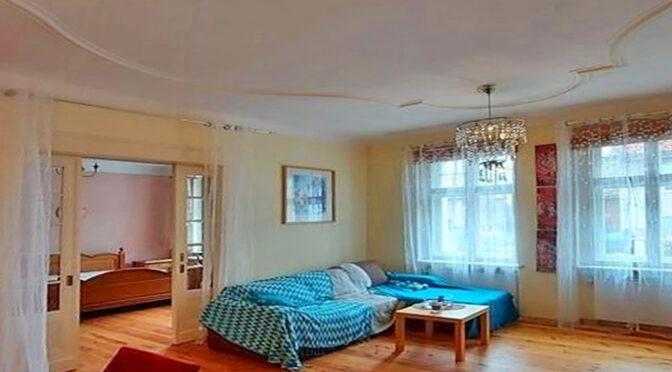 stylowy salon w ekskluzywnym apartamencie do sprzedaży Zgorzelec