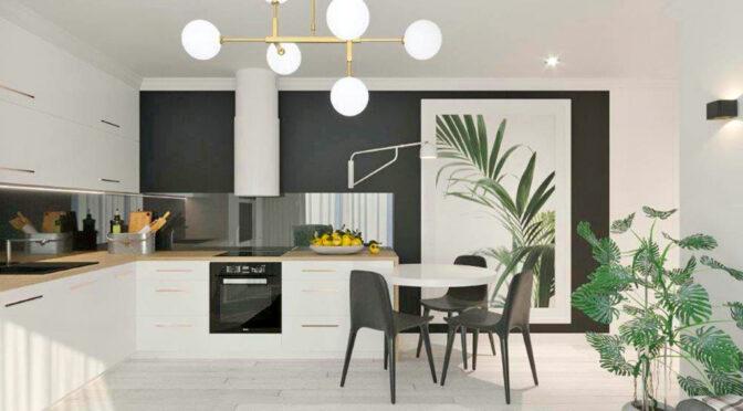 zaprojektowane zgodnie z najnowszymi trendami wnętrze luksusowego apartamentu do wynajęcia Częstochowa