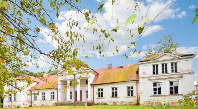 imponująca bryła ekskluzywnego pałacu do sprzedaży Lublin (okolice)