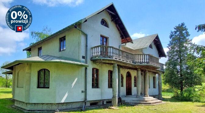 widok z boku na luksusową rezydencją na sprzedaż Piotrków Trybunalski