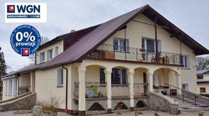 imponująca bryła ekskluzywnej rezydencji na sprzedaż Słupsk (okolice)