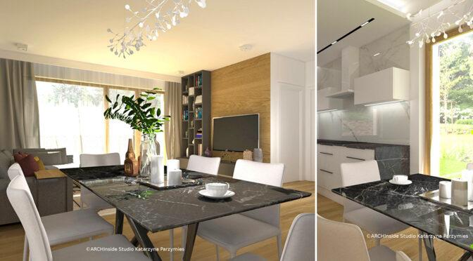 komfortowe wnętrze luksusowej rezydencji na sprzedaż Szczecin