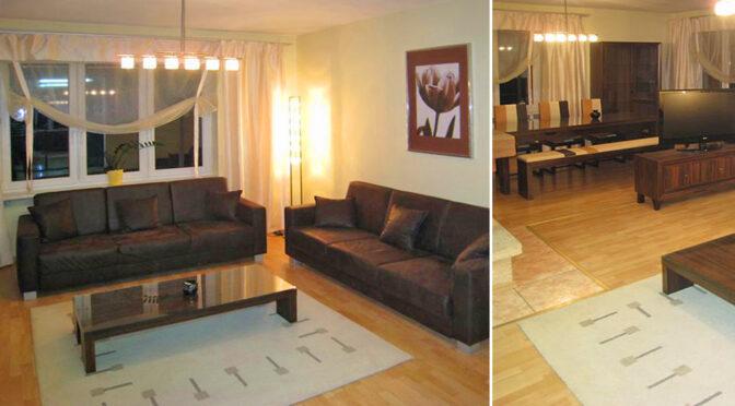 fragment wytwornego salonu w ekskluzywnej rezydencji na sprzedaż Wrocław