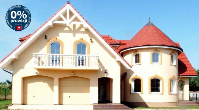 ciekawa architektonicznie bryła ekskluzywnej rezydencji na sprzedaż Wrocław