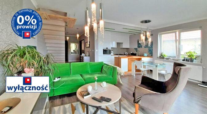 wykończony w najwyższym standardzie salon w ekskluzywnej rezydencji do sprzedaży Wrocław (okolice)