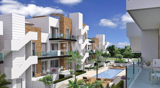 widok z balkonu luksusowego apartamentu na sprzedaż Hiszpania (Costa Blanca Alicante, Arenales Del Sol)