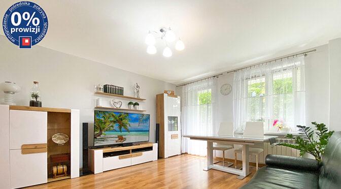 komfortowy salon w ekskluzywnym apartamencie na sprzedaż Katowice (okolice)