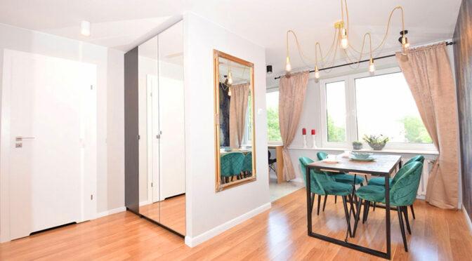 stylowe wnętrze ekskluzywnego apartamentu na sprzedaż Lublin