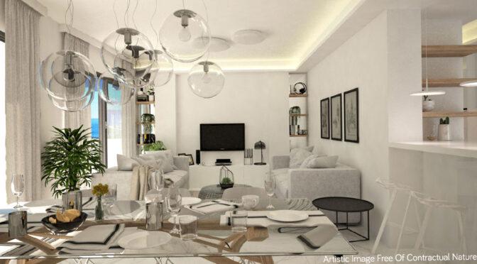 imponujące rozmachem wnętrze ekskluzywnego apartamentu do sprzedaży Guardamar De Segur (Hiszpania)