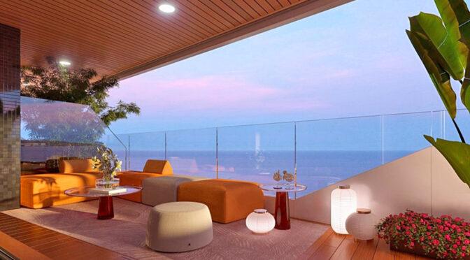 imponujący taras przy ekskluzywnym apartamencie do sprzedaży Hiszpania (Costa Blanca, Playa Poniente)