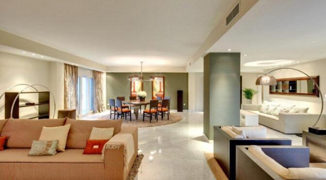 epatujące bogactwem wnętrze luksusoego apartameentu do sprzedaży Hiszpania (Costa Del Sol Malaga)
