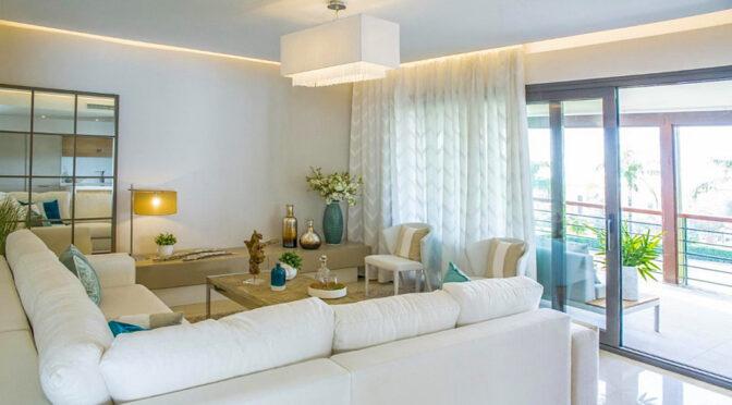 imponujący bogactwem salon w luksusowym apartamencie do sprzedaży Hiszpania (Costa Del Sol, Malaga)