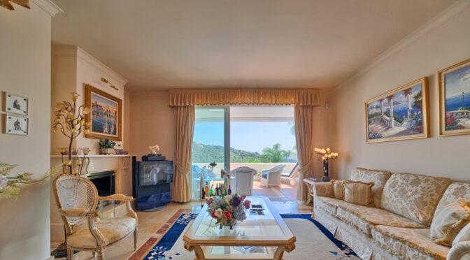 komfortowe wnętrze luksusowego apartamentu do sprzedaży Hiszpania (Costa Del Sol, Marbella)