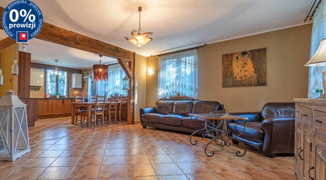 przestronny salon w luksusowej rezydencji na sprzedaż Cieszyn (okolice)