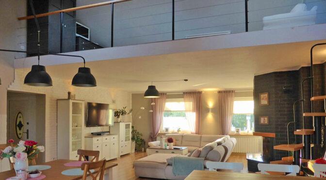 2-poziomowe wnętrze ekskluzywnej rezydencji na sprzedaż Kwidzyn