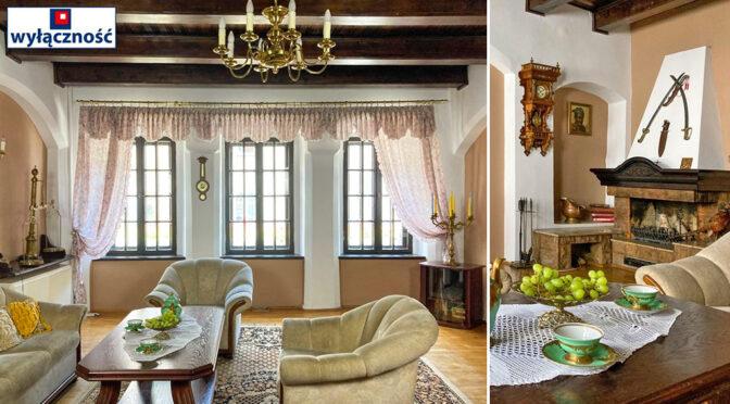 eleganckie wnętrze luksusowej rezydencji na sprzedaż Zielona Góra (okolice)