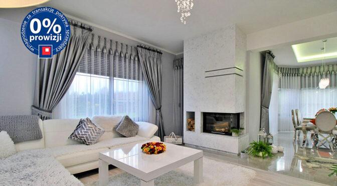 zaprojektowany zgodnie z najnowszymi trendami pokój gościnny w ekskluzywnej rezydencji do sprzedaży Gorzów Wielkopolski