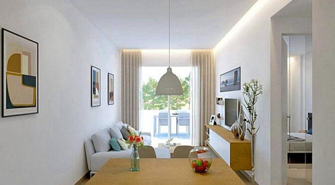 zaprojektowane w śródziemnomorskim stylu wnętrze ekskluzywnej rezydencji do sprzedaży Hiszpania (Pilar de la Horadada)
