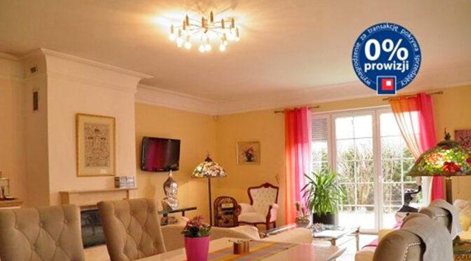 elegancki salon w luksusowej rezydencji do sprzedaży Szczecin (okolice)