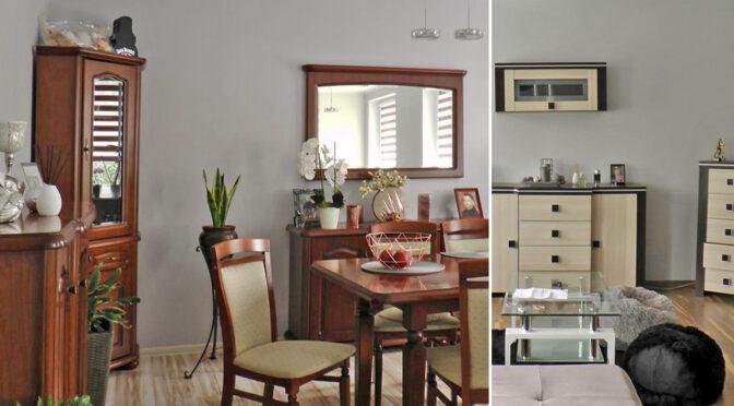 wytworne wnętrze salonu w luksusowej rezydencji do sprzedaży Szczecin (okolice)