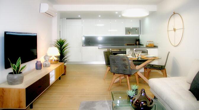eleganckie wnętrze luksusowego apartamentu na sprzedaż Hiszpania (Orihuela Costa, Villamartin)