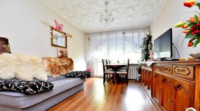 stylowy salon w ekskluzywnym apartamencie na sprzedaż Inowrocław