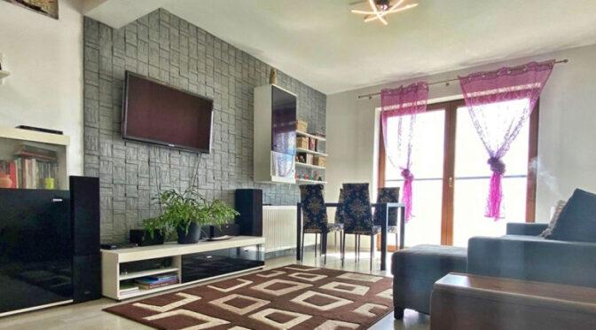 komfortowy salon w luksusowym apartamencie na sprzedaż Szczecin (okolice)