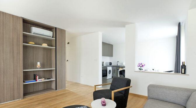 przepiękny salon w luksusowym apartamencie do sprzedaży Chorwacja (Sovlje)
