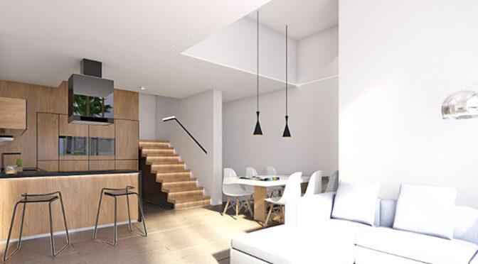 zaprojektowane w śródziemnomorskim stylu wnętrze luksusowej rezydencji na sprzedaż Hiszpania (Costa Blanca, Torrevieja)