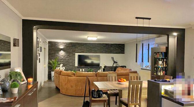 komfortowy salon w ekskluzywnej rezydencji na sprzedaż Żagań (okolice)