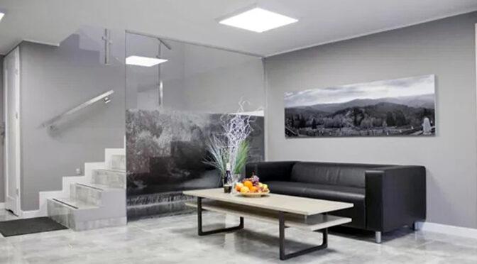 nowoczesne wnętrze luksusowej rezydencji na wynajem Ustroń