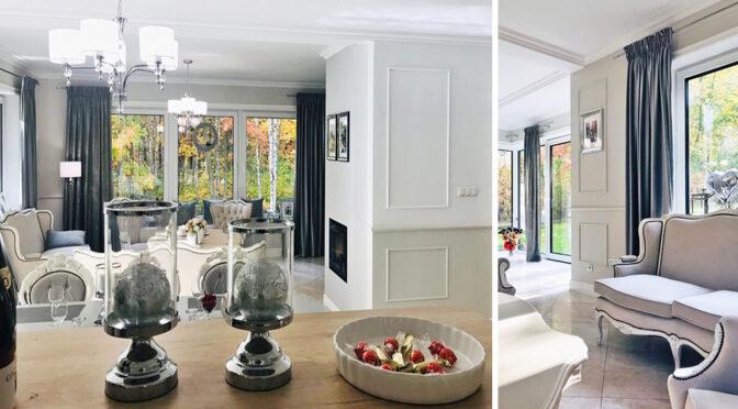 kameralne wnętrze luksusowej rezydencji do sprzedaży Częstochowa