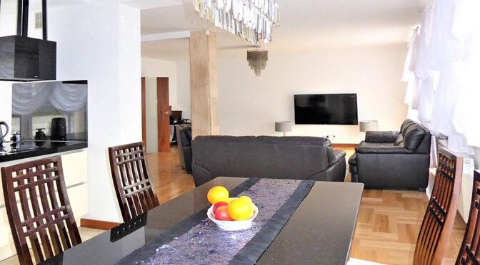 nowoczesny pokój dzienny w ekskluzywnej rezydencji do sprzedaży Częstochowa