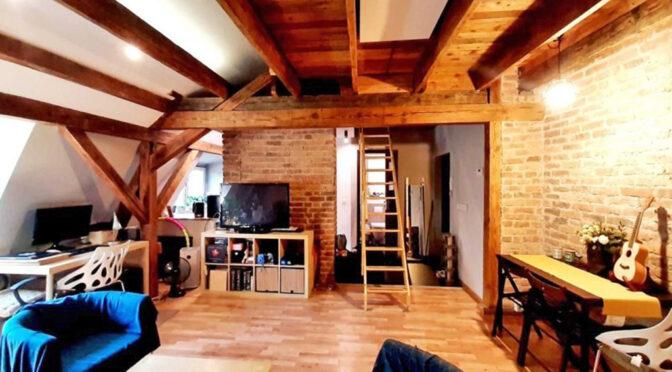 kameralny pokój dzienny w ekskluzywnym apartamencie do wynajmu Katowice
