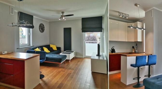 nowoczesne wnętrze ekskluzywnego apartamentu do wynajmu Legnica (okolice)