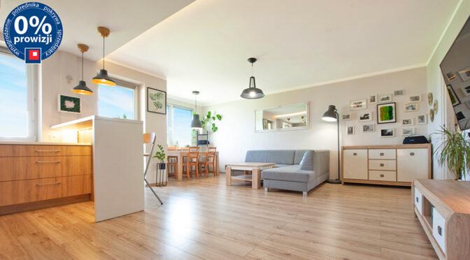 słoneczne wnętrze luksusowego apartamentu do sprzedaży Katowice (okolice)