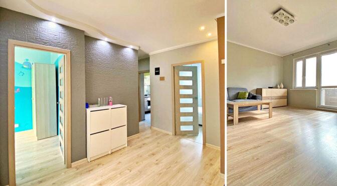 efektownie oświetlone wnętrze luksusowego apartamentu do sprzedaży Szczecin
