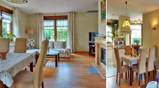 komfortowe wnętrze ekskluzywnej rezydencji do sprzedaży Żagań (okolice)