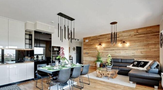 nowoczesne wnętrze luksusowego apartamentu na sprzedaż Gdańsk
