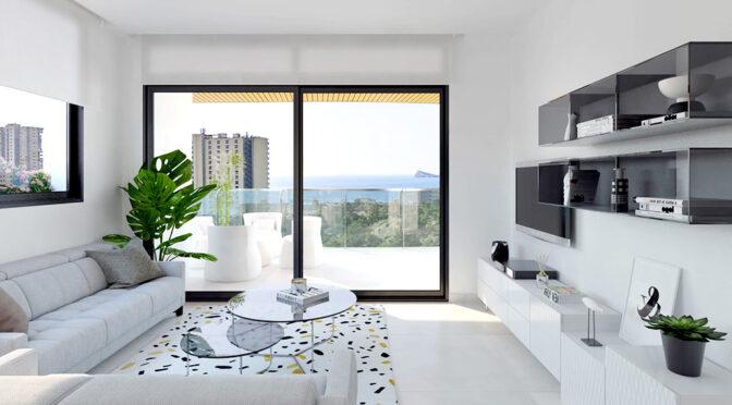 nowoczesny design wnętrza ekskluzywnego apartamentu na sprzedaż Hiszpania (Benidorm, Urb. Las Lomas)