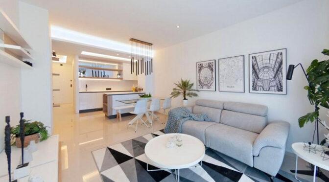 śródziemnomorski styl wykończenia wnętrza ekskluzywnego apartamentu na sprzedaż Hiszpania (Guardamar del Segura, Guardamar del Segura)